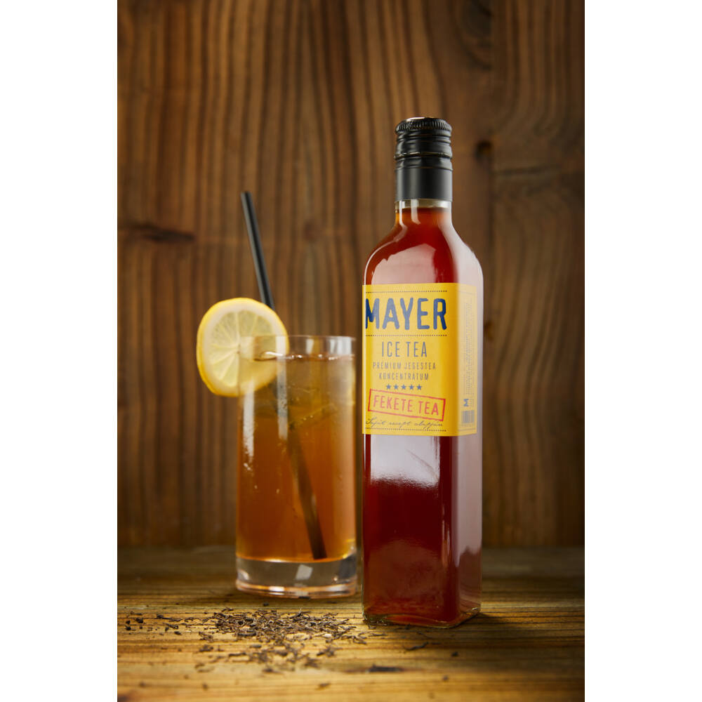 MAYER Ice Tea (fekete tea koncentrátum) 0,5l