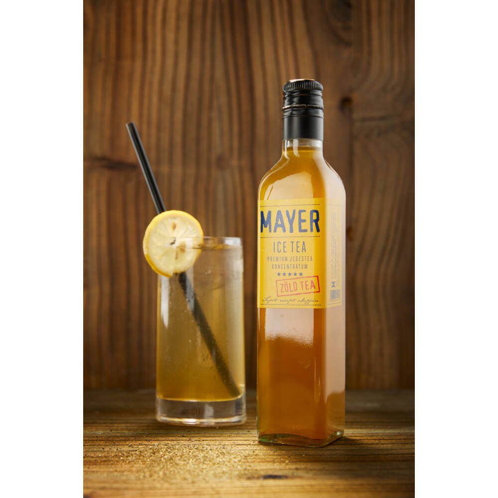 Mayer Ice Tea (zöld tea koncentrátum) 0,5l